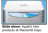 Slide show: Apple's new products at Macworld Expo